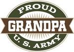 Proud U. S. Army Grandpa T-shirts