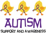 Autism Support Chicks Tshirts