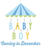 Baby Boy Coming in December Due Date Maternity