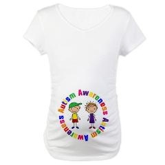 Autism Awareness Maternity T-shirts