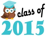 2015 Graduation Tee Shirts (owl)