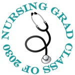 Nursing Grad Class of 2030 Gifts and Shirts