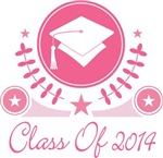 VINTAGE CLASS OF 2014 PINK