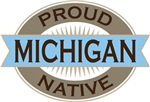 Proud Michigan Native T-shirts