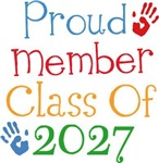 Proud Class Of 2027 Tshirts