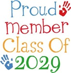Proud Class Of 2029 Tshirts