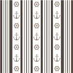 Anchor Nautical Wheel Tan