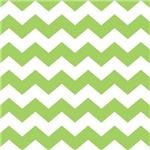 Chevron Zigzag Green Striped Gifts