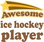 Awesome Ice Hockey Player T-shirts