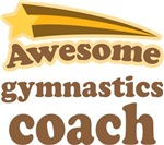 Awesome Gymnastics Coach T-shirts