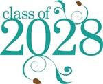 Cute Class Of 2028 tshirts