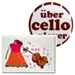 Cello Magnets for Cellists