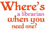 FUNNY FIND ME A LIBRARIAN
