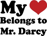 MY HEART BELONGS TO MR. DARCY