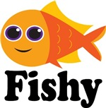 Colorful Fish Kids T-shirts