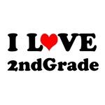I Heart 2nd Grade Teacher T-shirts / Gifts
