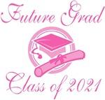 Future Graduating Class Of 2021 Kids T-shi