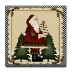 Christmas Tile Coasters For Gift Giving