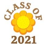 FLOWER CLASS OF 2021 T-SHIRTS