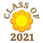 FLOWER CLASS OF 2021 T-SHIRTS