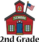 2nd  Grade School T-shirts and Gifts