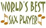 World's Best Sax Player T-shirts