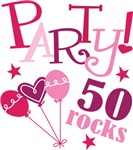 Party 50th Birthday T-shirts and Gifts
