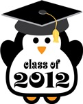 Penguin Class Of 2012 T-shirts and Graduation Gift