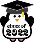 Penguin Class Of 2022 T-shirts and Graduation Gift