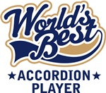 World's Best Accordion Player T-shirts