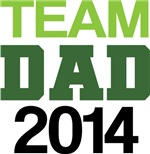 DadTo Be Team Dad 2014 T-shirts