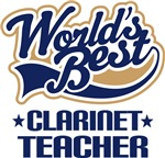 Clarinet Teacher T-shirts and Gifts