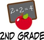 2nd Grade Teacher Apple