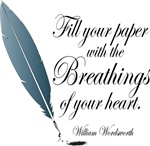 William Wordsworth Quote T-shirts