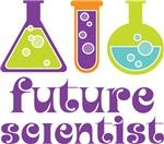 Science Cute Future Scientist Kids Tee Shirts