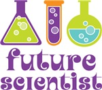 Science Cute Future Scientist Kids Tee Shirts