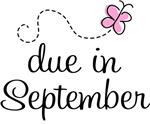 September Pregnancy Butterfly Due Date