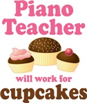 Funny Piano Teacher T-shirts and Gifts