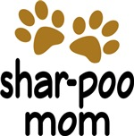 Cute Shar-poo Mom T-shirts and Gifts