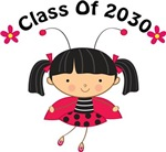 Class Of 2030 Ladybug Kids T shirts