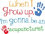 Future Acupuncturist Kids T-shirts