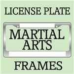 KARATE MARTIAL ARTS LICENSE FRAMES
