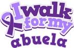 WALK FOR ABUELA ALZHEIMER'S T-SHIRTS