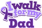 WALK FOR DAD ALZHEIMER'S T-SHIRTS