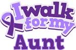 WALK FOR AUNT ALZHEIMER'S T-SHIRTS