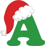 CUSTOM CHRISTMAS ALPHABET T-SHIRTS AND HOODIES