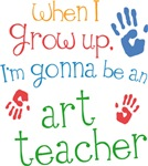 Future Art Teacher Kids T-shirts
