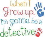 Future Detective Kids T-shirts