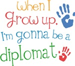 Future Diplomat Kids T-shirts