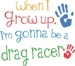 Future Drag Racer Kids T-shirts